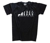 SILBER Edition Akkordeonspieler Akkordeon Ziehharmonika Evolution T-Shirt S-XXXL