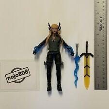 "Hasbro Marvel Legends CUSTOM MAGIK 6"" Action Figure With 2 Swords X-Men X-Force"