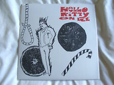 "Vinyl 7"": Hello Kitty On Ice : Man With A Hole In His Throat : Sealed RSD"