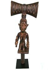 Art Africain - Baton Yorouba ou Shango Maternité - Socle sur Mesure - 50 Cms +++