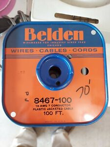 Belden 8467 18 AWG 7C PVC 19x30 Strands Audio  Cable 70'
