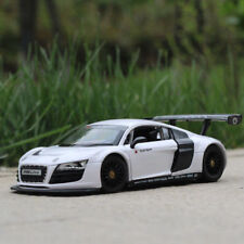 Audi R8 LMS Model Cars 1:24 Toys Open two doors Collection Alloy Diecast White