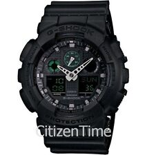 """-NEW- Casio Black G-Shock Watch """"Just Released"""" GA100MB-1A"""