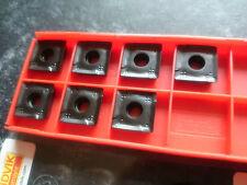7 Sandvik carbide tips 490-R-140408M-PM 3040 ( 490R 140408 M-PM 14 04 08 )