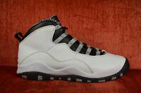 CLEAN Nike Air Jordan Retro X 10 Steel GS Size 7 Y 310806-103 Black OG ALL