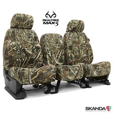 Realtree Max-5 Camo Tailored Seat Covers for Toyota Tundra - Made to Order