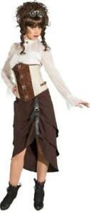 Steampunk Viktorianisch Barock Rokoko Kostüm Kleid Rock Korsage Jacke Gothic Hut