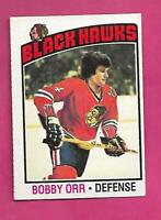 1976-77 OPC # 213 CHICAGO HAWKS BOBBY ORR GOOD CARD (INV# D5888)