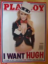 Playboy Magazine November 2012 50 Years of Heff's Girlfriends