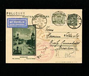 Zeppelin Sieger 150B 3rd South America Flight Poland TreatyDispatch BerlinFeed
