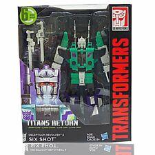 Transformers Generations Titans Return Six Shot (six changer G1 hasbro) New