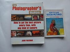 The Photographer's Manual & How to Take Good Pictures (film photography guides)