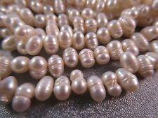 Freshwater White Teardrops Pearl Beads 102pcs