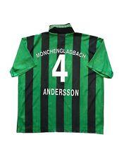 Borussia Mönchengladbach Trikot ANDERSSON 96/97 Away BMG Reebok Vintage Kit XL