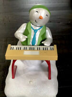 Hallmark Animated Musical Snowman Band member Keyboard Ken 2010