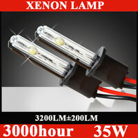 35W HID Xenon Bulb Headlight Replacement H1 H3 H4 H7 H8/11 9005 9006 8000K 6000K