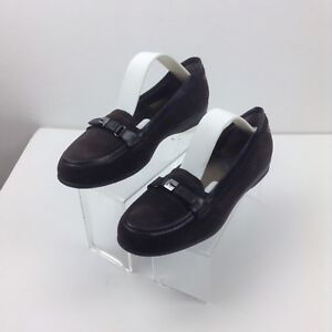 Chaussures Mocassins Femme Scholl Daim Marron T 38