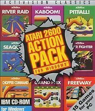 Atari 2600 Action Pack for Windows (Pc, 1995)