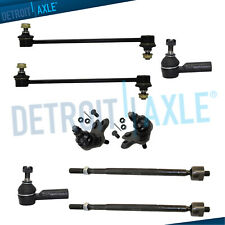 Inner Outer Tierod Sway Bars Ball Joints for 2003-2008 Pontiac Vibe Matrix FWD
