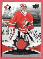 2016-17 Stuart Skinner Upper Deck Team Canada Juniors Jersey - Edmonton Oilers