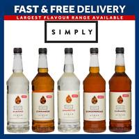 Simply Syrups | Sugar Free Range | Coffee  | Vegan & Vegetarian | UK SELLER