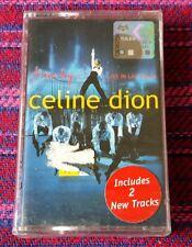 Celine Dion ~ Live In Vegas ( Malaysia Press ) Cassette