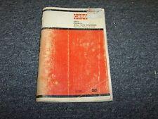 Case 310G Bulldozer Dozer Crawler Tractor Owner Operator User Guide Manual Book