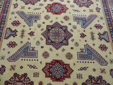 9'x12' New Fine Pakistani Super Kazak hand knotted wool Tribal Caucasian rug