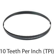 1425mm x 6.35mm x 0.35mm 10TPI LAME ACCIAIO Bandsaw-Legno Metallo Plastica Taglio