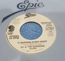 KC & The Sunshine Band – It Happens Every Night ~ Promo ~ (M-)