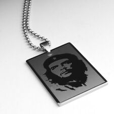 New Ernesto Che Guevara Silver Stainless Steel Necklace Pendant Jewellery Gift