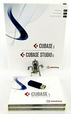 Steinberg Cubase 5 Voll DAW Musik Software ex.EDU + eLicenser Dongle + Garantie