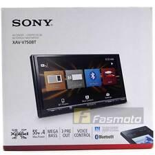 """Sony XAV-V750BT 6.95"""" Double DIN Bluetooth In-Car Digital Media Receiver (No CD)"""
