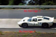 Phil Hill & Jo Bonnier Chaparral 2D Nurburgring 1000 Km's 1966 Photograph 1