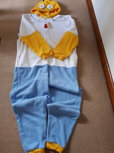 The Simsons Homer Simpson Primark Mens One Piece Loungewear