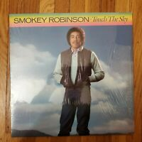 Smokey Robinson Touch The Sky 1983 VG+ Vinyl Lp NM Shrink-wrap Record Cover