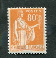 Timbre FRANCE YT n° 366 neuf B* - Type PAIX - 1937/39