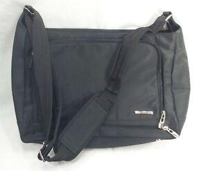 "Everything Bag - Flexible Briefcase Shoulder Strap 14"" x 9"" x 5"" Black"