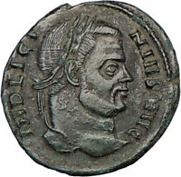 LICINIUS I  Constantine the Great enemy 320AD Ancient Roman Coin Vexillum i23098
