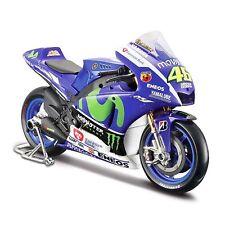Maisto 1:10 YAMAHA 2015 YZR-M1 MotoGP Valentino Rossi Motorcycle Bike Model NO46