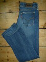 Levi's Jeans 572 Denim Jeans Womens Classic Red Tab W29 L34 RRP £75  [161]