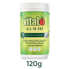 VITAL GREENS ALL IN ONE 120G TUB SUPERFOOD BLEND NUTRIENT SUPPLEMENT PROTEIN