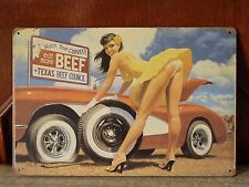 car garage Art poster Vintage metal Tin sign man cave  Home room wall decor