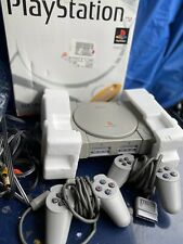 SONY PlayStation Console COMPLETE IN BOX! PSX PS1 Dual Shock TESTED!