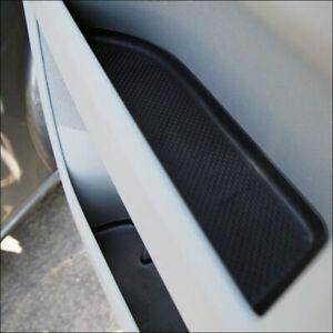 for VW T5, T5.1 Door Pocket Inserts, Rubber, Door Liner (Black) Both Captain Sea