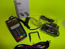 INGENICO ICT220 DUAL COMM CREDIT CARD TERMINAL SMART CARD CHIP SLOT PIN PAD