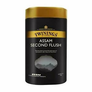 4 X Twinings Assam Second Flush Tea, 100 g, Loose Tea, Strong, Full-Bodied