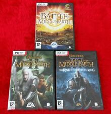 pc LORD OF THE RINGS Battle For Middle Earth Games REGION FREE Please Choose