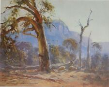 Doug Sealy, Morning in the Valley, Glen Alice, Sheep and Gum Trees, Landscape.