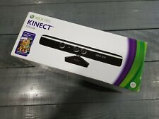 XBOX 360 Kinect Sensor With Kinect Adventures Games New Sealed